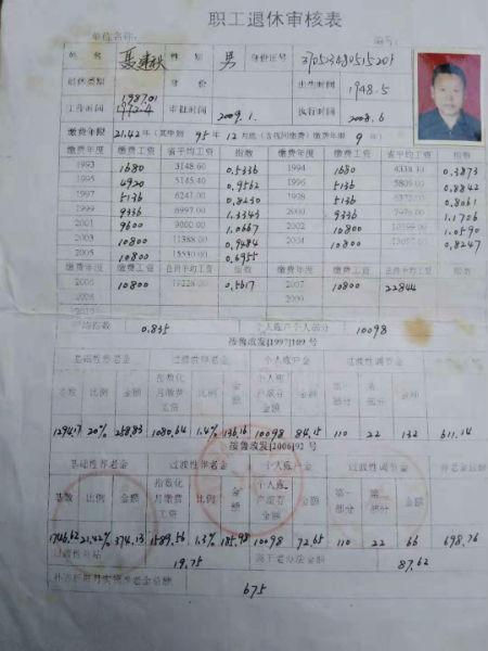 山东广饶县大王镇一退休人员诉称其在编名额被顶替
