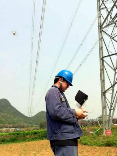 南网超高压柳州局探索利用新科技提升巡线工作效率